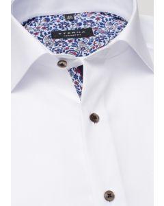 Eterna Skjorte Popeline Hvid