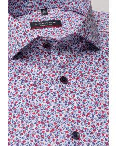 Eterna Skjorte Print 3423-Modern Fit