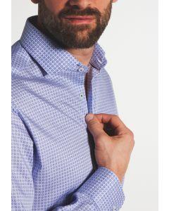 Eterna Skjorte Print 3424-Modern Fit