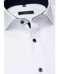 Eterna Skjorte Twill Comfort Fit Hvid